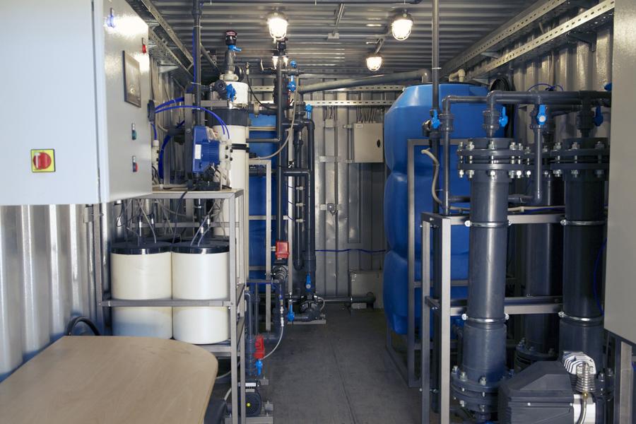 Очистка сточных вод ультрафильтрацией